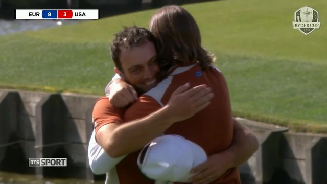 Golf - Ryder Cup: Europe - USA: (10-6) [RTS]
