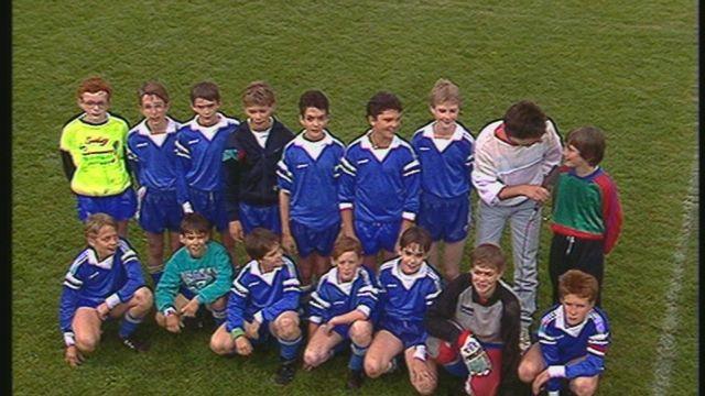 Finale du tournoi de football des juniors D romands 1990 [RTS]