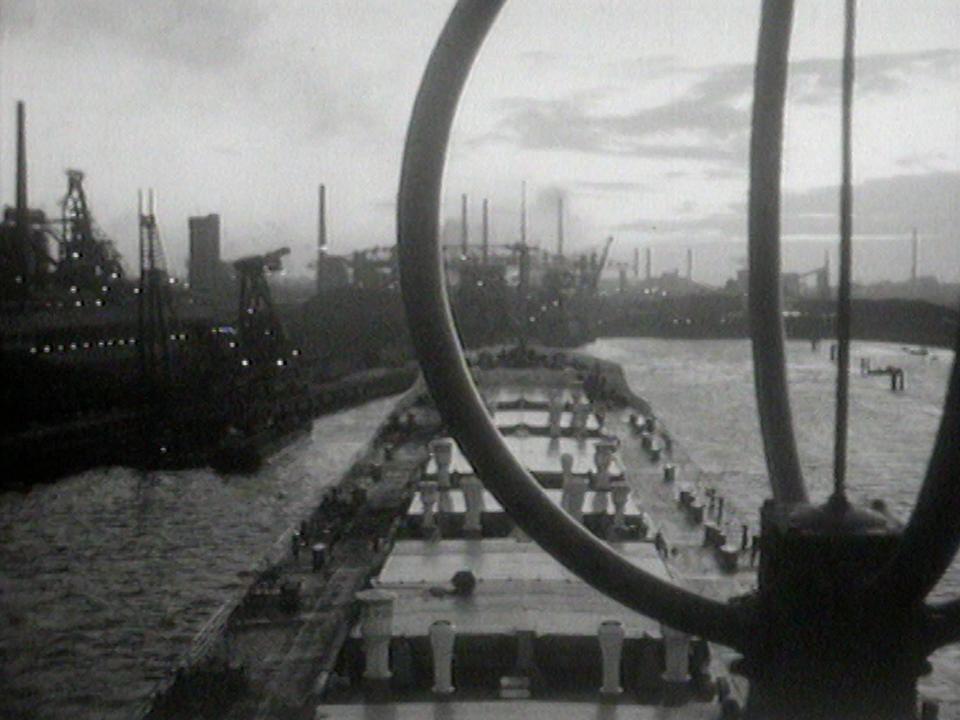 Le port d'Ijmuiden en 1965. [RTS]