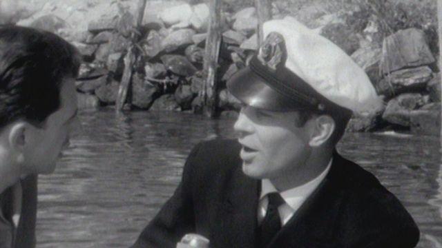 Rencontre avec un marin suisse en 1961. [RTS]