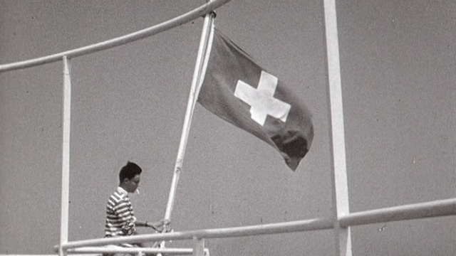 La Marine Suisse en 1970. [RTS]