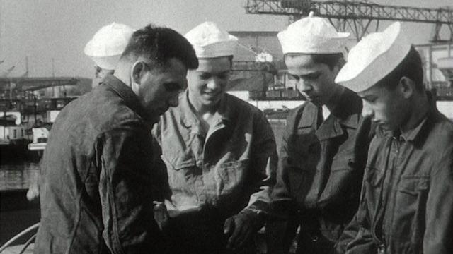 Le métier de marin en 1961. [RTS]
