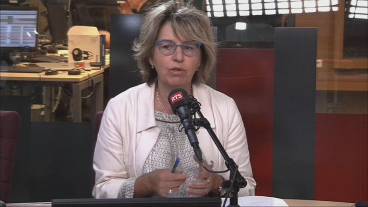 Maternité et exécutif: interview d'Elisabeth Baume-Schneider, ancienne ministre jurassienne (vidéo) [RTS]