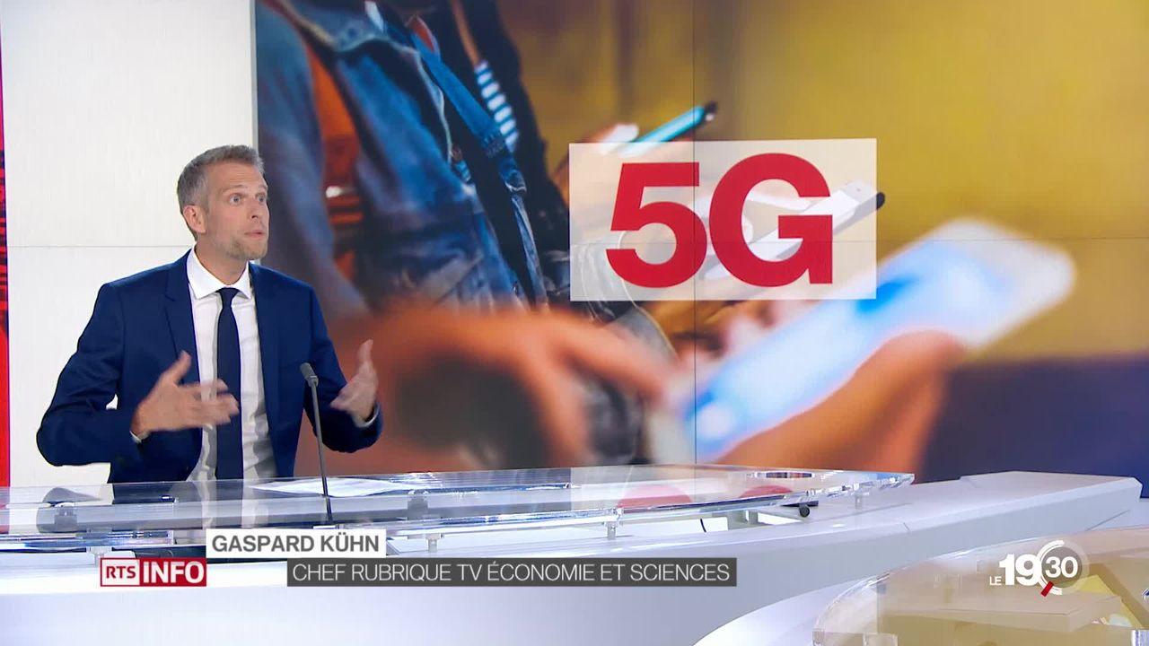 """Gaspard Kühn """"Les téléphones vendus aujourd'hui ne captent pas la 5G. C'est l'obsolescence programmée pour certains appareils."""" [RTS]"""