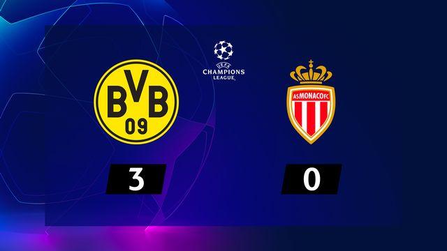 2e journée, B.Dortmund – Monaco (3-0): le Borussia de Lucien Favre corrige Monaco
