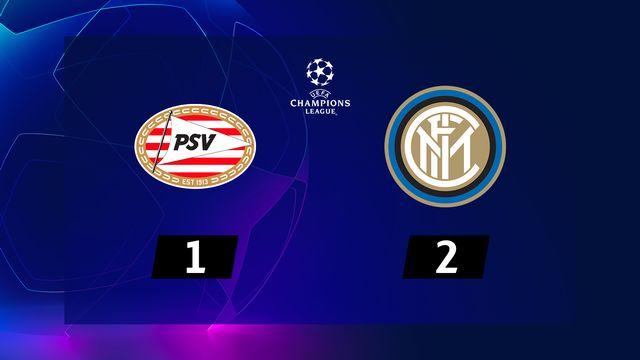 2e journée, PSV Eindhoven – Inter (1-2): l'Inter s'impose à Eindhoven grâce à un nouveau but d'Icardi