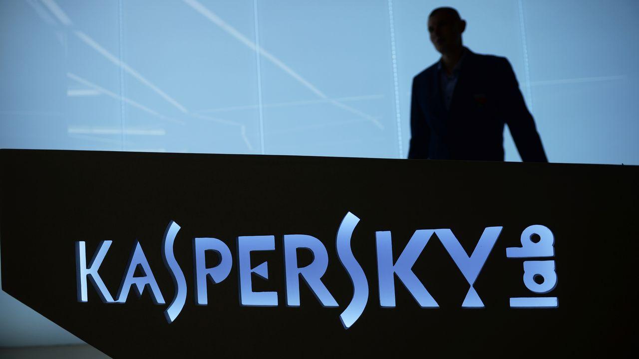 Le logo de Kaspersky Lab. [Kirill Kallinikov  - AFP]