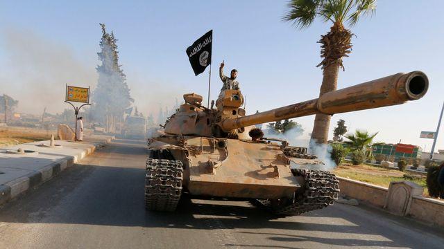"""Le groupe Etat islamique a fait de Raqqa, dans le nord de la Syrie, la capitale de son  """"califat"""". [Reuters]"""