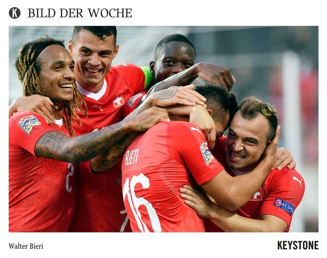UEFA Nations League Islande - Suisse 4e journée [Walter Bieri - Keystone]