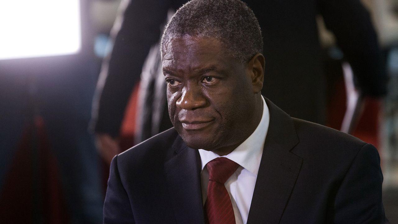 Denis Mukwege. [Laurent Bleuze - RTS]