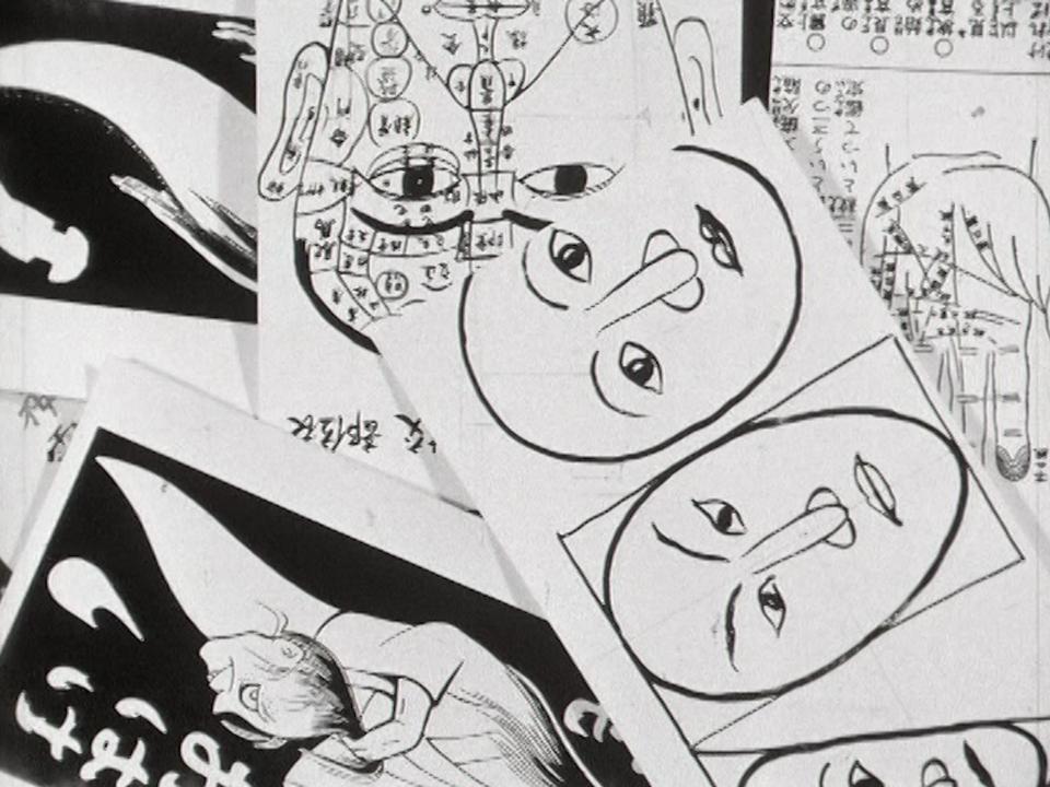 Iconographies de la collection de Nicolas Bouvier en 1967. [RTS - RTS]