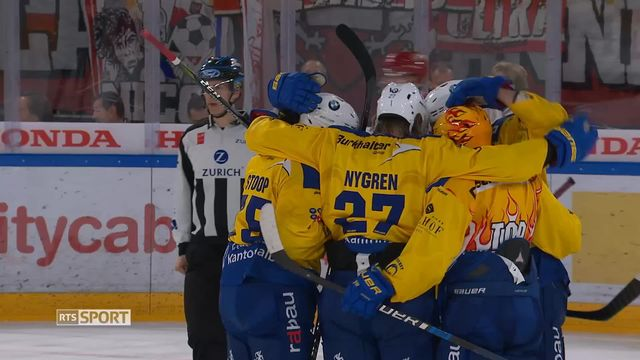 National League, 7e journée: Lausanne - Davos (1-5) [RTS]