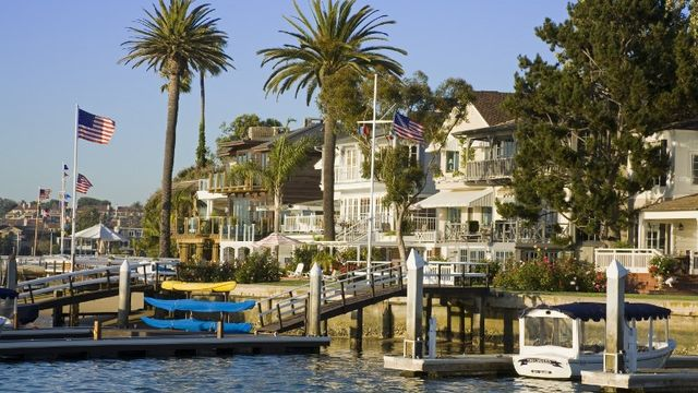 Balboa dans le compté d'Orange, en Californie. [Richard Cummins  - Robert Harding Heritage]