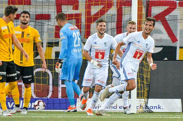 Les Lucernois ont joué un bien mauvais tour aux Bernois. [Martin Meienberger - Freshfocus]