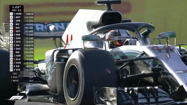 GP du Japon (#13): 9e victoire de la saison pour Lewis Hamilton (GBR) [RTS]
