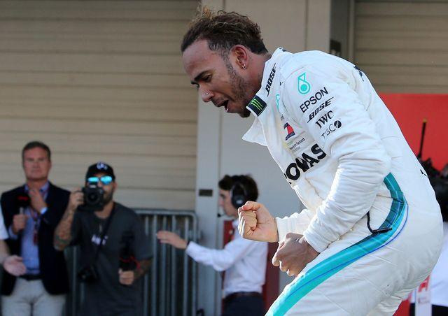 Lewis Hamilton se rapproche d'un 5e sacre mondial. [Toru Takahashi - Keystone]