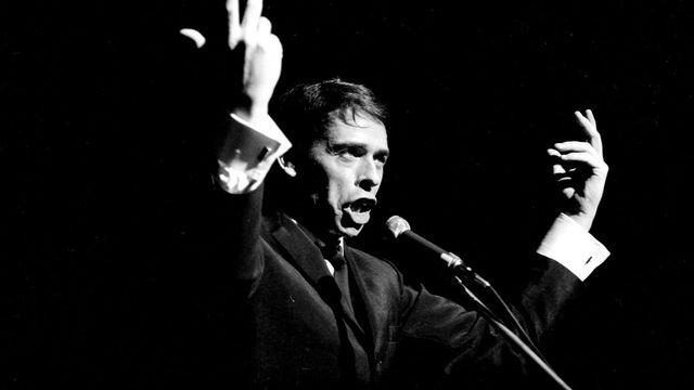 Jacques Brel en 1967. [Bernard Lipnitzki - Keystone / Roger Viollet]