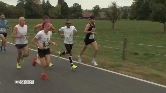 course à pied: Morat-Fribourg, le résumé [RTS]