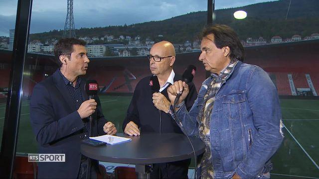 Football, 10e journée: entretien avec Christian Constantin et Christian Binggeli [RTS]