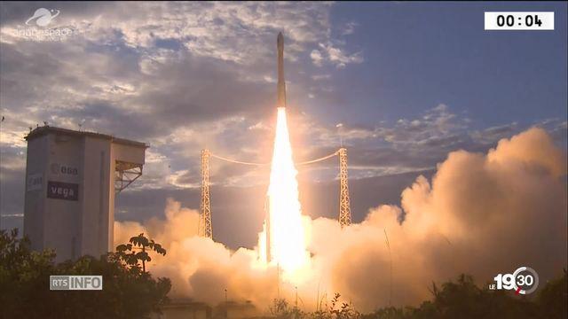 L'agence spatiale européenne met en orbite un satellite révolutionnaire. Sa mission: mesurer les vents sur la planète. [RTS]