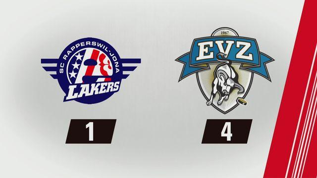 Rapperswil - Zoug (1-4): Tous les buts [RTS]