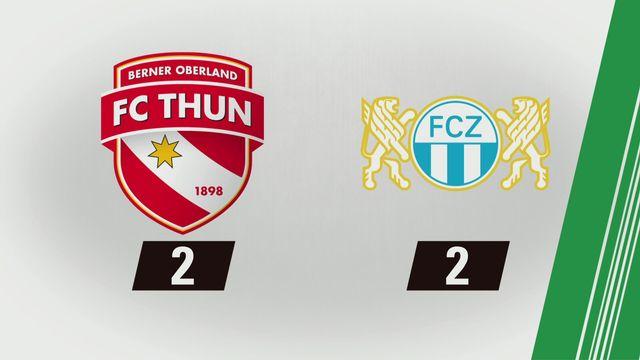 Thoune - Zurich (2-2): Tous les buThoune [RTS]