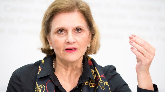 La conseillère nationale Doris Fiala (PLR-ZH). [Anthony Anex - Keystone]