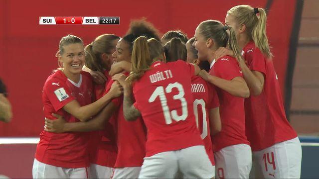 Barrage : Suisse - Belgique (1-1) [RTS]