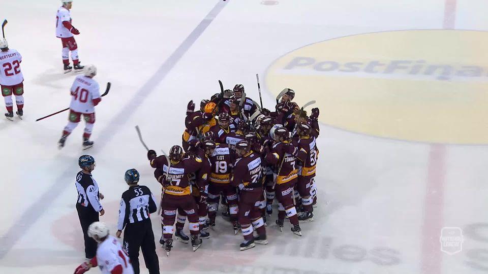 Hockey, National League (grand format): GE Servette - Laussanne HC (2-1) [RTS]