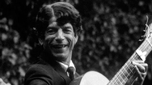Manitas de Plata en 1966 au festival d'Avignon. [RTS]