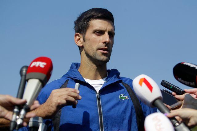 Novak Djokovic a donné son avis sur la nouvelle Coupe Davis. [Andrej Cukic - Keystone]