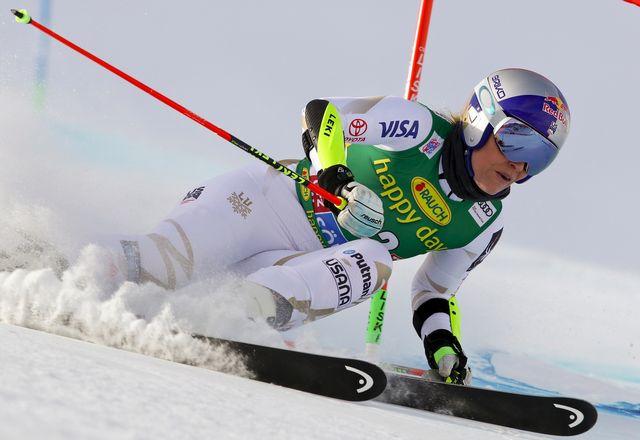 Coupe du monde Slalom Géant Dames 1ère manche [Alessandro Trovat]