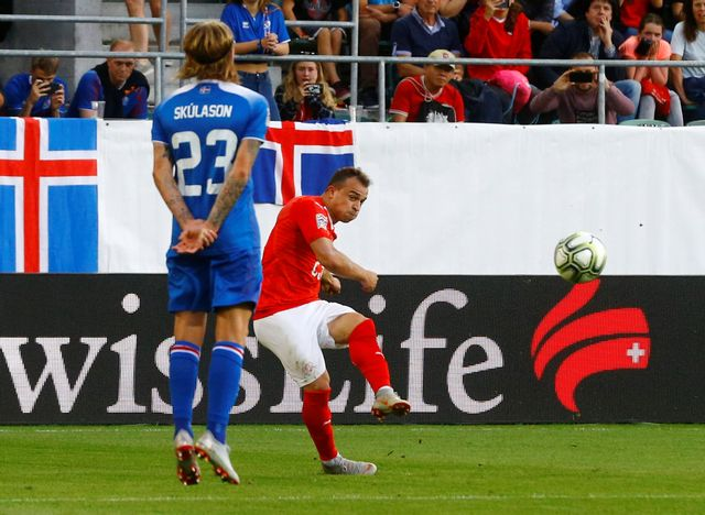 Suisse - Islande. [Arnd Wiegmann - Reuters]