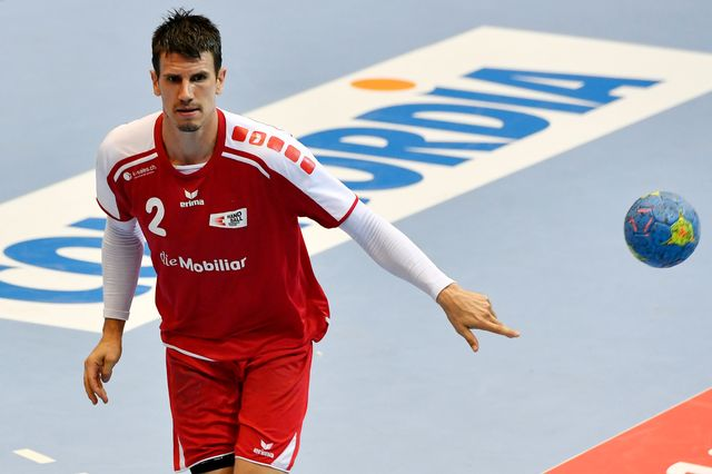 Qualification Championnat d'Europe Suisse - Serbie [Walter Bieri  - Keystone]