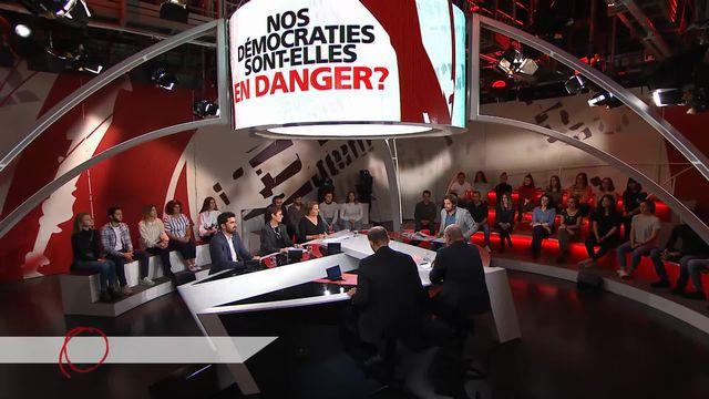 Bolsonaro, Orbán, Salvini... Nos démocraties sont-elles en danger? [RTS]