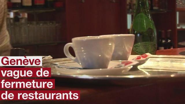 Vague de fermeture de restaurants a Geneve [RTS]
