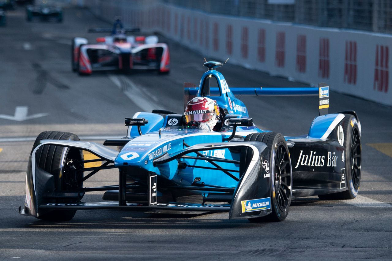 Buemi devrait parcourir les rues de Berne au volant de sa Formule e l'an prochain. [Ennio Leanza - Keystone]