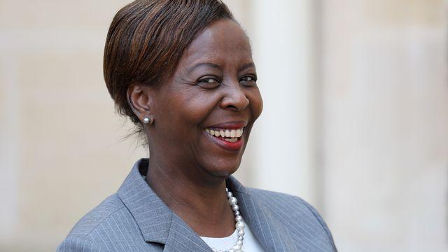 Louise Mushikiwabo, nouvelle secrétaire générale de l'Organisation internationale de la Francophonie. [Ludovic Marin - AFP]