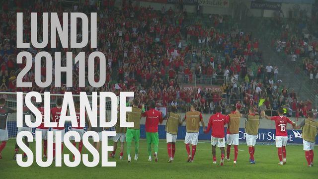 Bande-annonce: Football UEFA Nations League  Islande - Suisse du 15.10.2018 [RTS]