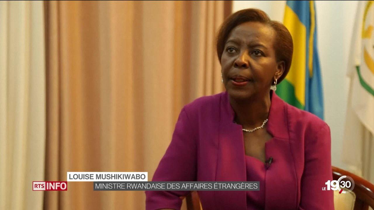 La ministre des affaires étrangères Rwandaise Louise Mushikiwabo à la tête de la francophonie. Une élection contestée... [RTS]