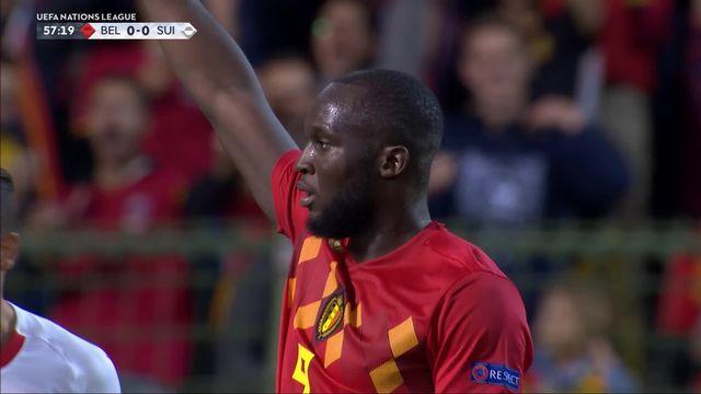 Gr.2, Belgique – Suisse (1-0): 58e, Lukaku ouvre le score et inscrit son 44e but en sélection [RTS]