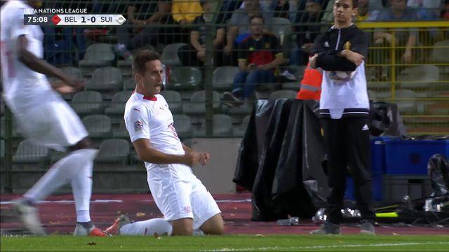 Gr.2, Belgique – Suisse (1-1): 76e, Gavranovic égalise après une remise parfaite d'Elvedi ! [RTS]