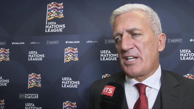 Gr.2, Belgique – Suisse (2-1): Vladimir Petkovic au micro de RTSsport [RTS]