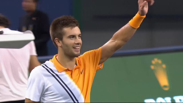 Shanghaï (CHN), 1-2 finale, Federer (SUI) battu par Coric (CRO) 4-6 4-6: Coric jouera Djokovic en finale [RTS]