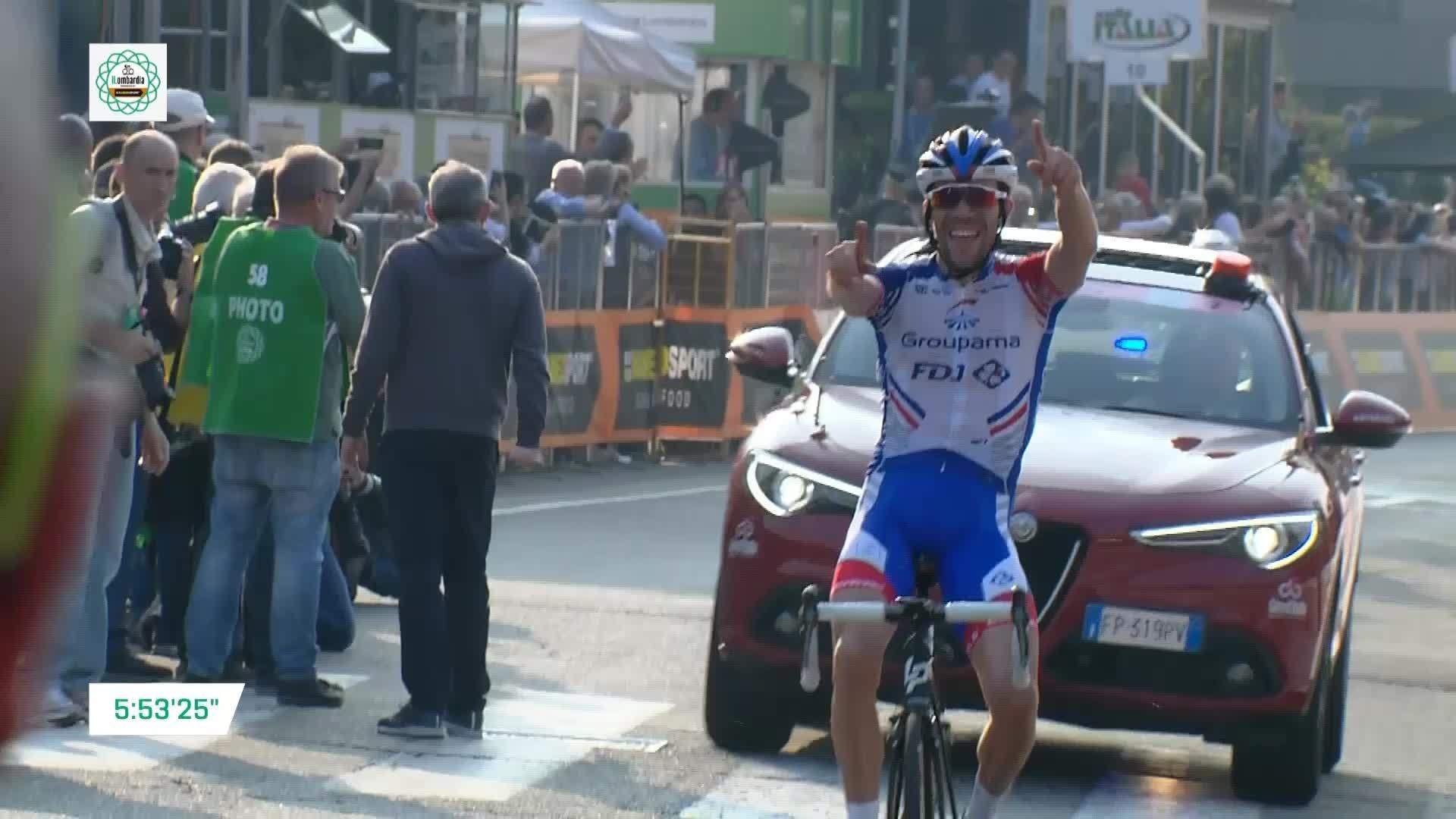 Nibali est tombé sur un Pinot plus fort — Tour de Lombardie