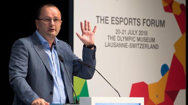 Patrick Baumann était président du comité d'organisation de Lausanne 2020. [Laurent Gillieron - Keystone]