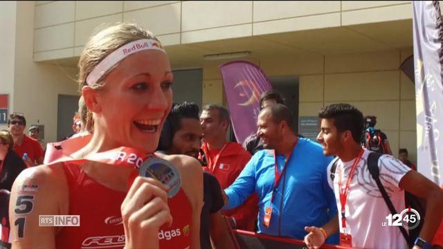 La Soleuroise Daniela Ryf a remporté le championnat du monde d'Ironman, à Hawaï, pour la quatrième fois de suite. [RTS]