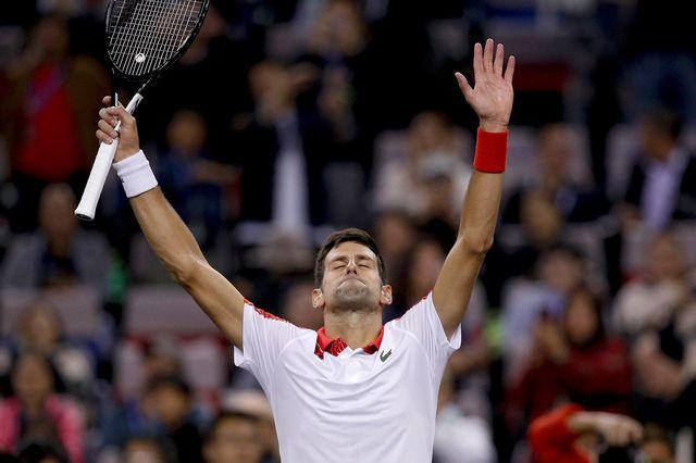 Novak Djokovic a remporté pour la 4e fois le Masters 1000 de Shanghai. [Andy Wong - AP Photo - Keystone]