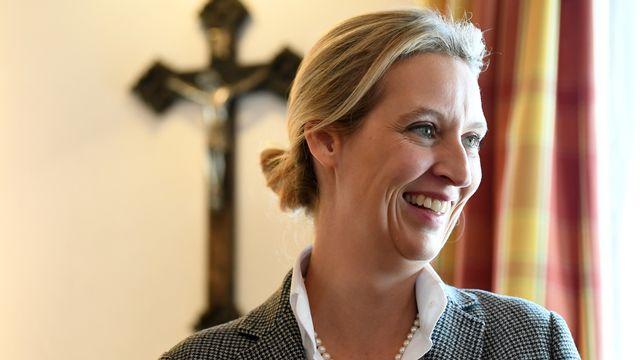 Alice Weidel est l'une des dirigeantes du parti Alternative für Deutschland (AfD). [Andreas Gebert - EPA - Keystone]