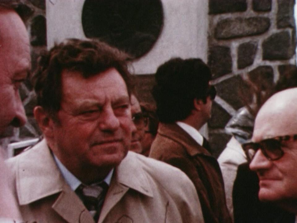 Le Bavarois Franz Josef Strauss en 1980. [RTS]